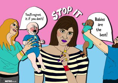 Please stop telling women we'll change our minds about not wanting children