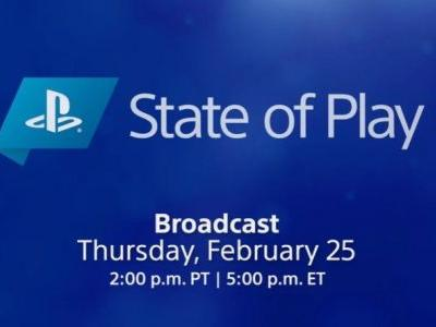 A State of Play is coming on February 25 with PS4 and PS5 games