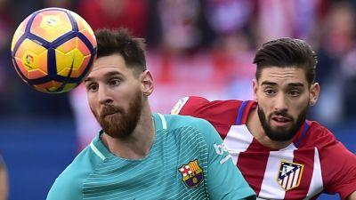 Atletico Madrid 1-2 Barcelona: Messi's late strike secures victory for Barca