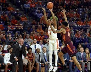 Mitchell leads Clemson to 59-51 win over No. 11 Hokies