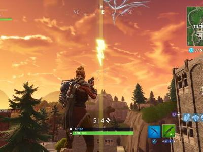 Fortnite: Search Floating Lightning Bolts - Every Floating Lightning Bolt location