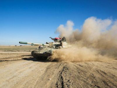 U.S.-backed Iraqi forces launch major air-and-ground offensive to drive ISIL from western Mosul