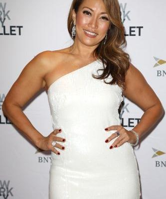 Whoops! Carrie Ann Inaba Takes a Spill Out of Her Chair on 'Dancing With the Stars'