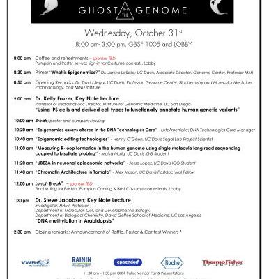 Halloween Symposium: 'Ghost in the Genome'