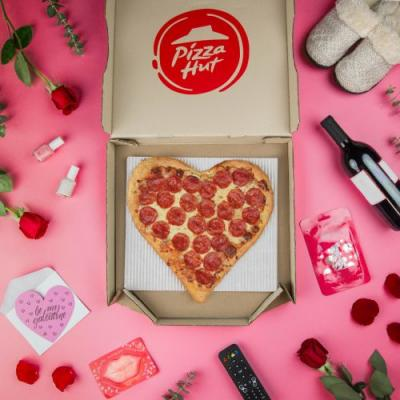 Pizza Hut's Heart-Shaped Pizzas For Valentine's Day Are A Cheesy Display Of Love