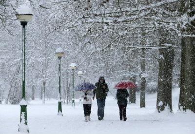 Central Spain records -25.C temperature and deep freeze after snowstorm