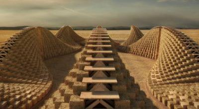 NUDES designs School in Malawi made from Straw Bales