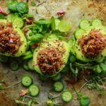 Spicy Tuna Poke Stuffed Avocados