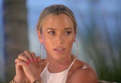 Teddi Mellencamp Arroyave Caught In A Lie On Tonight's Real Housewives Of Beverly Hills?