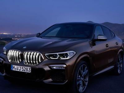 The New BMW X6 Has Optional Illuminated Kidney Grilles