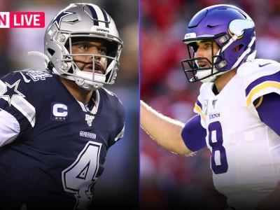 Cowboys vs. Vikings live score, updates, highlights from 'Sunday Night Football'