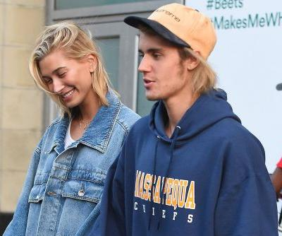 Justin Bieber's sweatshirt proves he's already part of Hailey Baldwin's family