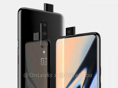 OnePlus 7 shows up in leaked renders w/ pop-up selfie-cam, triple cameras, no notch