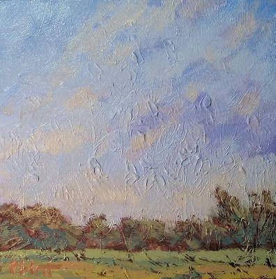 Contemporary Art Landscape Oil Painting Autumn Summer