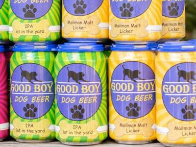Beer For Dogs Now Available at 15 Bars and our Tails Are Wagging