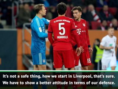Kovac admits no one is safe in Bayern's line up ahead of Liverpool clash