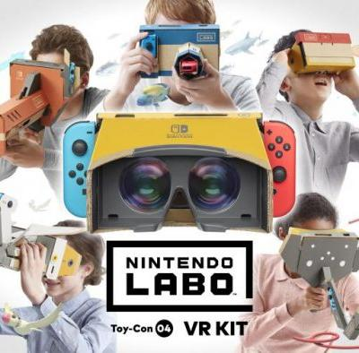 Nintendo Labo Toy-Con 04: VR Kit Announced for Switch