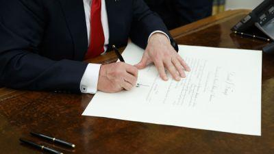 Trump Signs Executive Order To 'Ease The Burdens Of Obamacare'