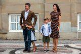 Princess Mary Wore Summer's Most Practical Heels With Her Breezy Dress