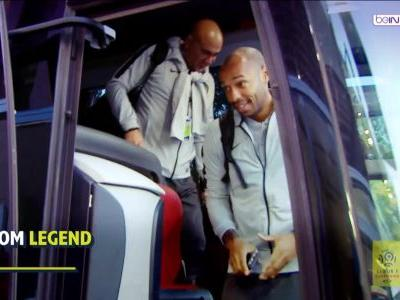 Thierry Henry's baptism of fire