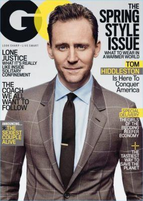 Tom Hiddleston Suits Up for GQ Cover Story, Talks Taylor Swift