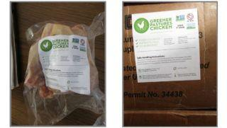 Fradulant labeling of uninspected whole chickens results in recall