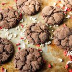 Peppermint Mocha Crinkles, Gluten-Free and Vegan