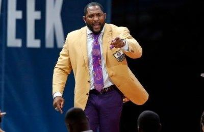 Ray Lewis urges togetherness, love in Pro Football Hall of Fame speech