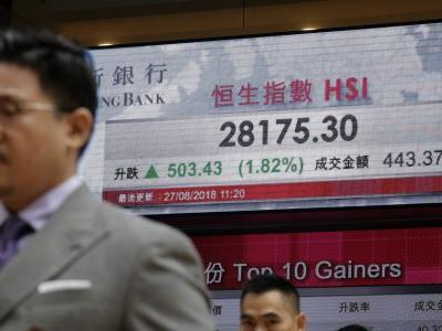 Asian stocks rise, gripped by optimism on Wall Street