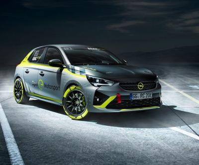 Opel's Corsa-e Is World's First All-Electric Rally Car