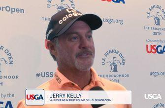 2018 U.S. Senior Open: Jerry Kelly Discusses His First-Round 66