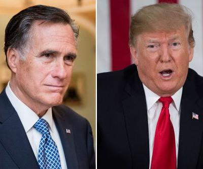 Trump responds to Romney after blistering op-ed