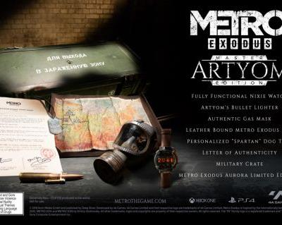 Metro Exodus Getting Extravagant Special Edition, But You Can't Buy It