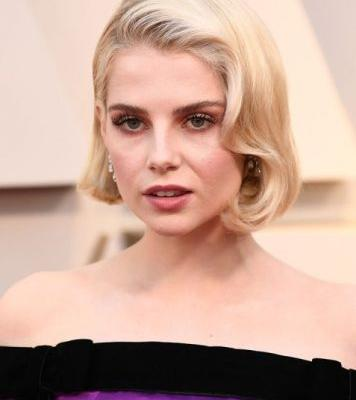 Lucy Boynton's Eye Makeup at the 2019 Oscars Deserves a Closeup
