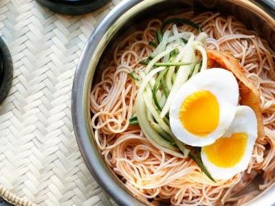 Korean Spicy Cold Noodles
