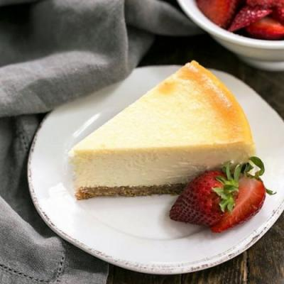 Perfect Vanilla Cheesecake