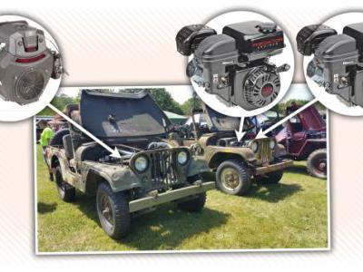 This Wrenching Genius Installed Lawnmower Engines Into His Military Jeeps
