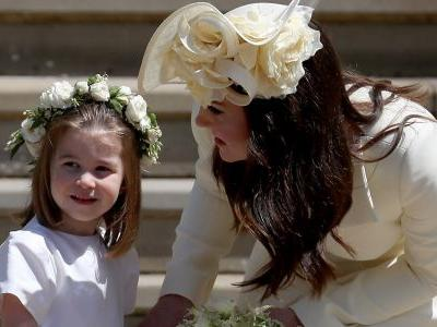 Uhhh, Kate Middleton Was Reportedly 'Left In Tears' After Princess Charlotte's Dress Fitting For Meghan's Wedding