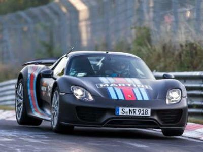 Porsche Aiming For 6:30 Lap At The 'Ring In 918 Spyder Successor
