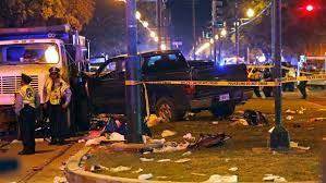 Intoxicated driver plows truck into Mardi Gras Parade, injuring dozens