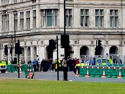 Armed police are dealing with an incident on Whitehall