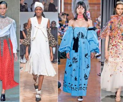 Looks to steal from London's Spring 2019 runways