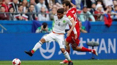 Mexico 1-1 Russia: Confed Cup hosts bid to reach semifinals
