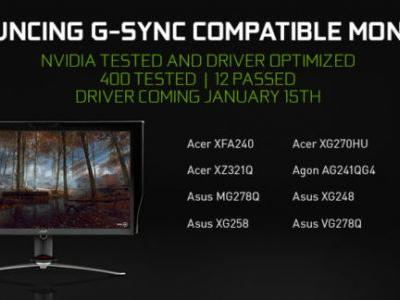 In Sync at CES: Announcing G-SYNC Compatible Monitors and BFGD Pre-Orders