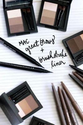 MAC Great Brows, Brow Sculpt and Brushstroke Liners From the MAC Great Brows Collection
