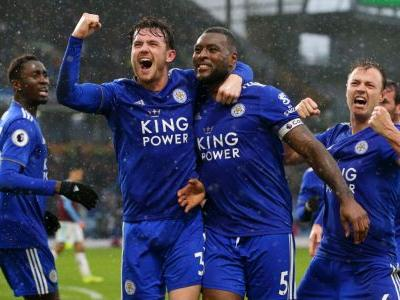 Late Morgan header earns 10-man Leicester win at Burnley