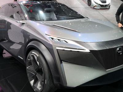 Take a tour of Nissan's wild new IMQ concept crossover
