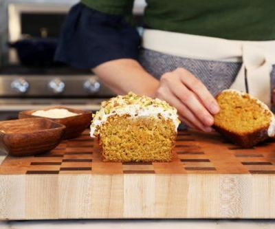 Browned Butter Carrot Loaf Cake