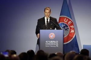 UEFA president Ceferin re-elected, won't be FIFA 'yes man'