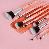 These Rose Quartz Makeup Brushes Are Basically Healing Crystals For Your Face